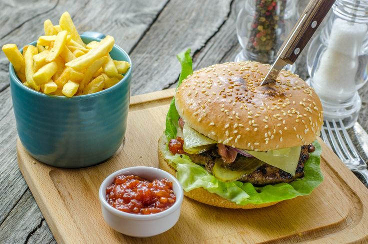 Clasic beef burger