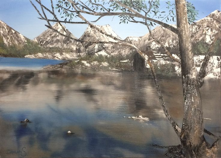 Painting from my visit to Cradle Mountain Tasmania