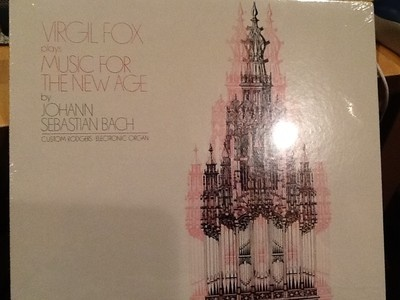 VIRGIL FOX PLAYS MUSIC FOR THE NEW AGE (Bach) – Helden HCR 871A NEW IN SHRINK
