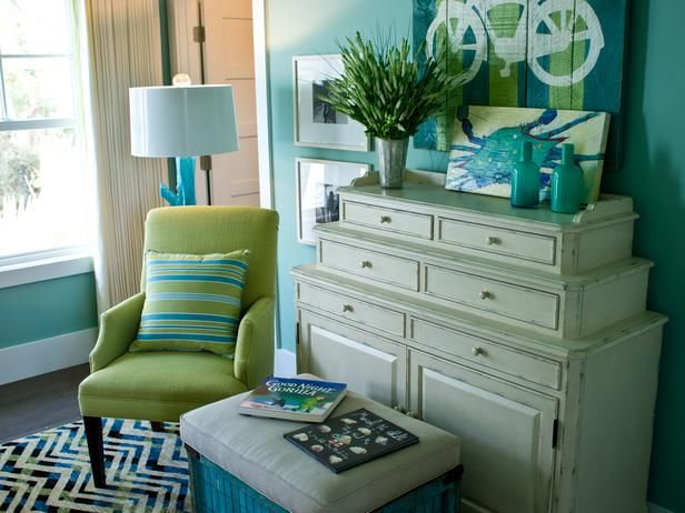 252 best decorating with blue & green images on pinterest