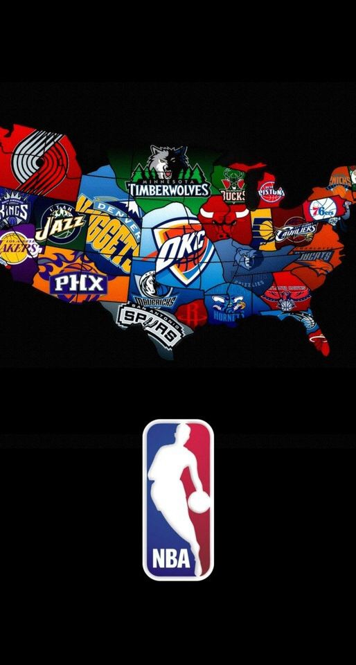 It shows where all the nba are in the