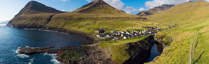 Smyril Line - Færøyene. Uberørt. Uspolert. Storslått natur.