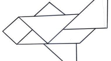 Recursos educativos: Tangram El tangram, a través de la percepción visual, puede ayudarnos a despertar en el niño el desarrollo