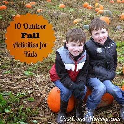 East Coast Mommy: 10 Fantastic {Outdoor} Fall Activities for Kids-- These are great! Fellow geocachers :)
