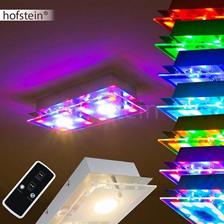 16 besten led deckenleuchten deckenlampen mit farbwechsler bilder auf pinterest bruder. Black Bedroom Furniture Sets. Home Design Ideas
