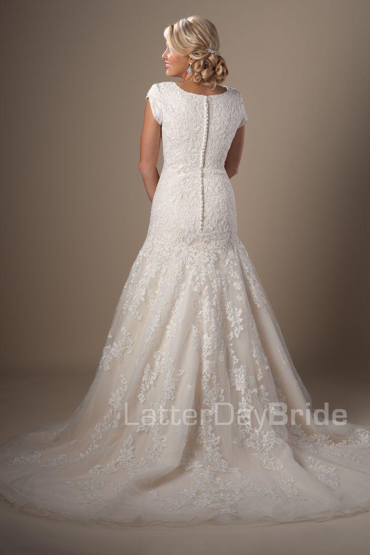 Modest Wedding Dresses : Sullivan. Latter Day Bride, Gateway Bridal & Prom