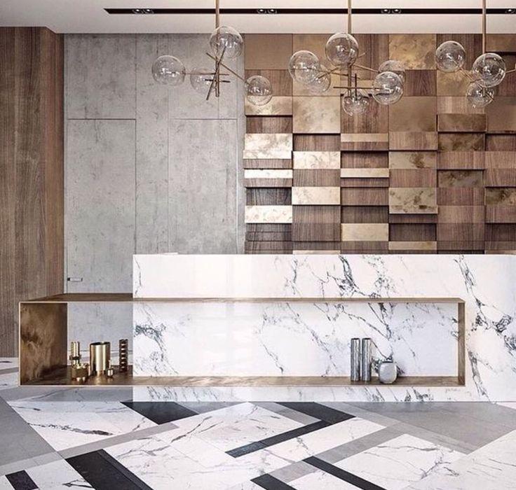 60 best reception images on Pinterest Lobby reception, Front - k amp uuml chen luxus design