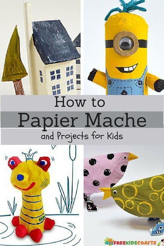 How To Paper Mache And Projects For Kids In 2020 Paper Mache