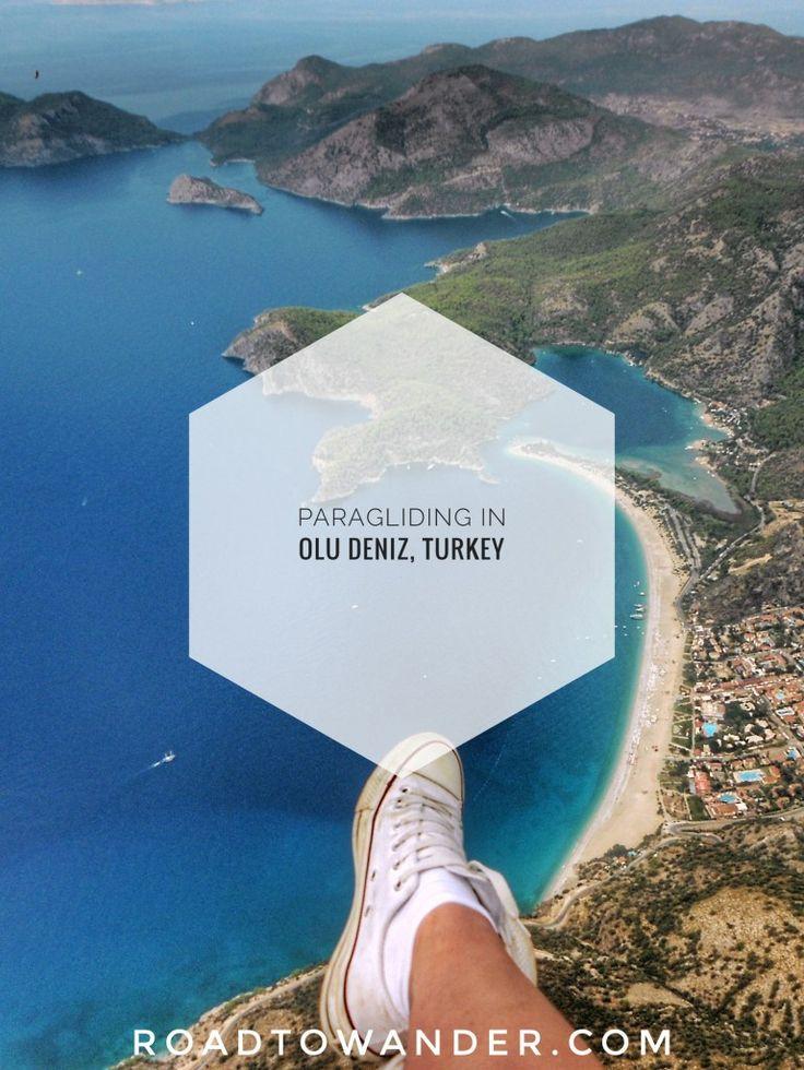 Paragliding experience in Olu Deniz, Turkey