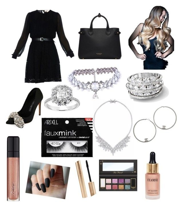 """""""Untitled #44"""" by jade2006 on Polyvore featuring MICHAEL Michael Kors, Alexander McQueen, Burberry, L'Oréal Paris, WithChic, Eloise and Chanel"""