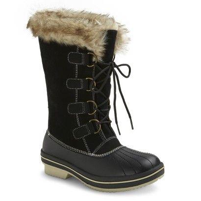 Women's Neida Winter Boots - Black size 6