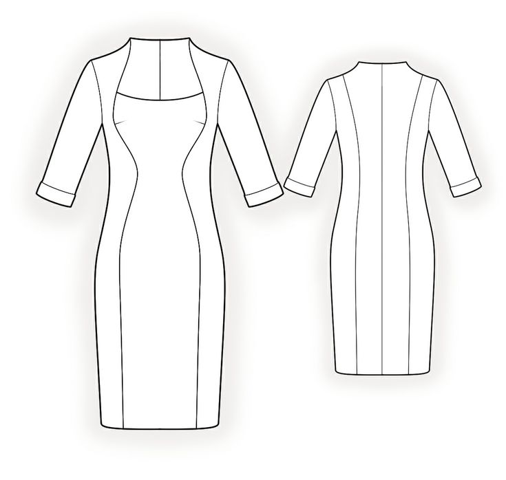 how to cut a sleeve pattern for a dress