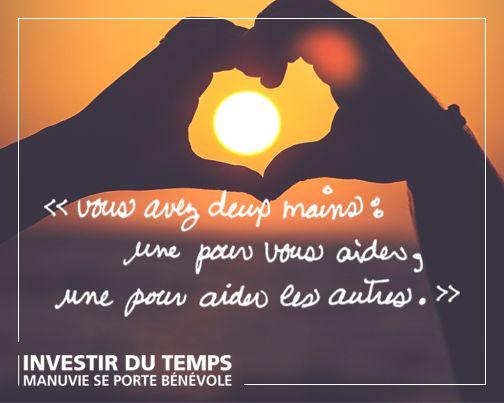 #mains #citation #français #bénévolat #bénévole #gentillesse #bonté #inspiration #valeurs #aider #altruisme #bonheur #changement #motivation #entraide #solidarité #communauté #vivre #naviguer #boussole #but
