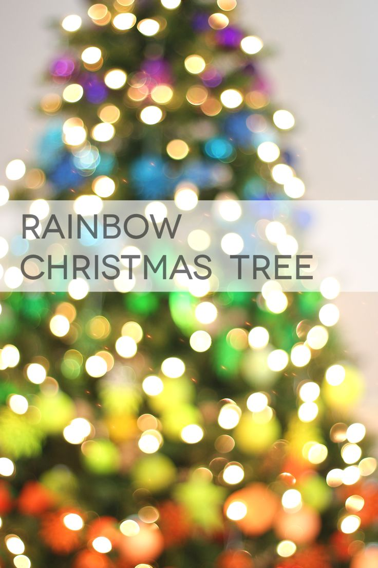 82 best Christmas Rainbows images on Pinterest | Xmas, Christmas ...