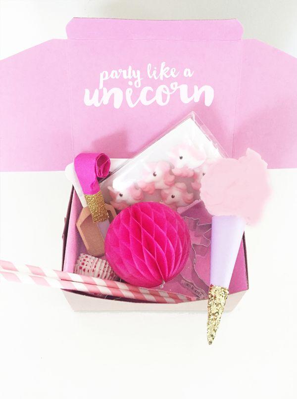 Party Like a Unicorn Gift Box.
