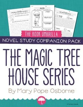 Magic Tree House companion pack!  A great companion to our Magic Tree House novel studies!  A collection of worksheets for students to complete before, during and after they read ANY Magic Tree House book!  The worksheets included cover the following: • Inferencing Before Reading • Comparing Characters (Jack and Annie) • Reflective Reading • Simple Sequence (First, Next, Then, Finally) • Traveling in the Magic Tree House (research a place/time) • Letter to Mary Pope Osborne • Story...