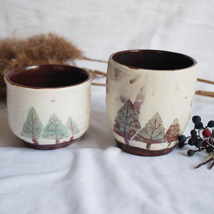 Rustic handmade ceramics cup. #ceramics #mug #cup #handmade #unique #rustic #wintertheme #winemug #wintermug #coffemug #christmas #cup #claymug #clay #porcelain #handmademug