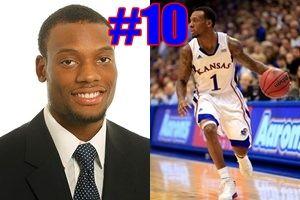 KU Player Quiz! Who is #10 for the Kansas Jayhawks 2013 basketball team?