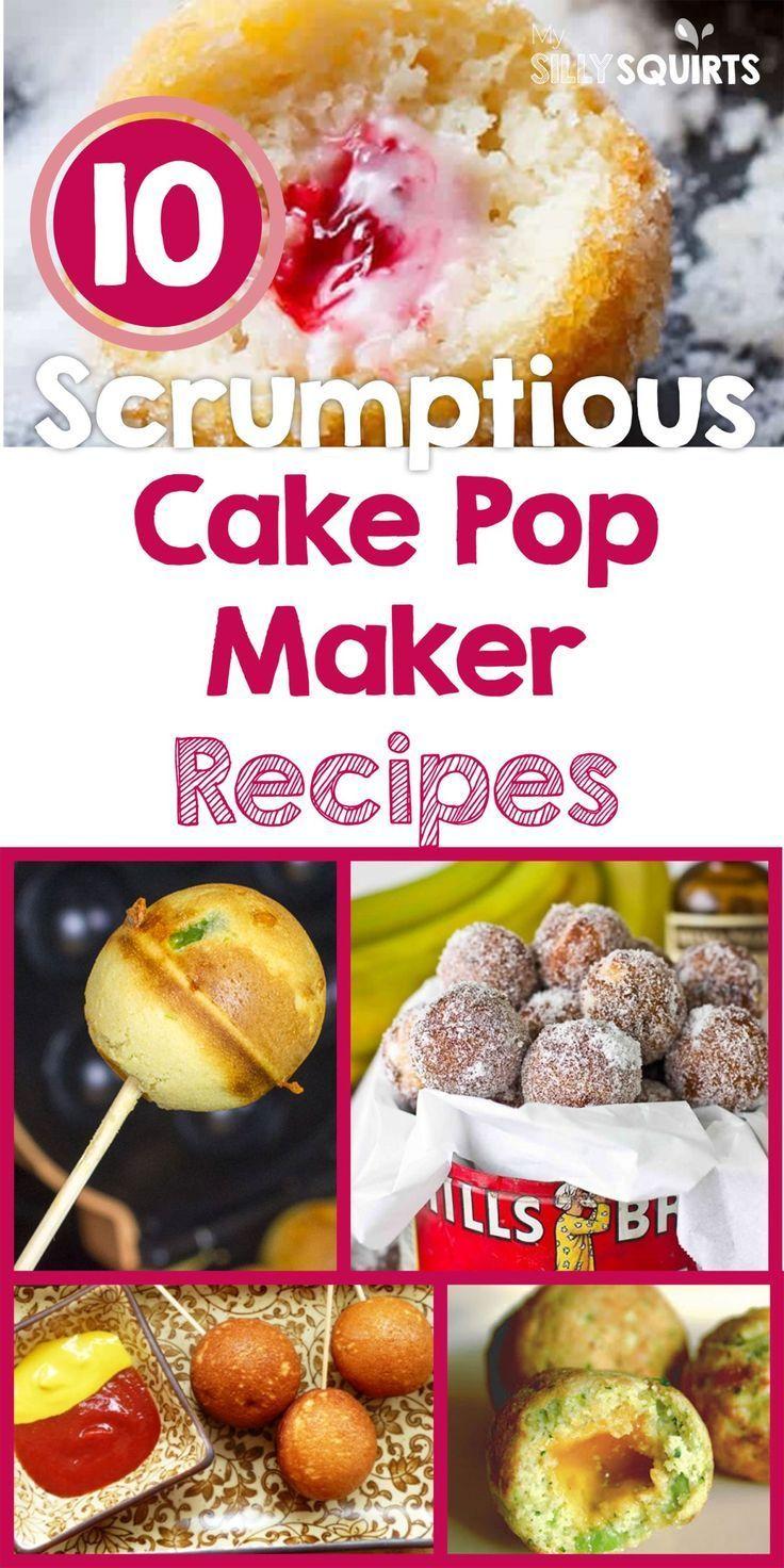 10 Kostliche Cake Pop Maker Rezepte Yum Cake Delicious Makerrecipes Pop Cake Pop Rezeptes Cake Pop Maker Rezepte Lecker Cake Pops Rezept