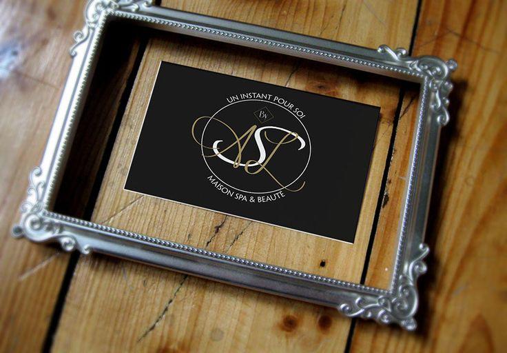 Création logo gamme maison spa et beauté. Agence de communication Saori Beaujolais Val de Saône