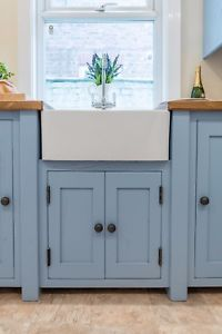 Made-to-order-Handmade-Rustic-Painted-Solid-Wood-Kitchen-Belfast-Sink