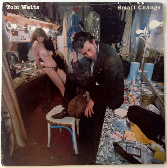 Tom Waits - Small Change LP Vinyl Record Album, Asylum Records - 7E-1078, Rock, Blues, 1976, Original Pressing