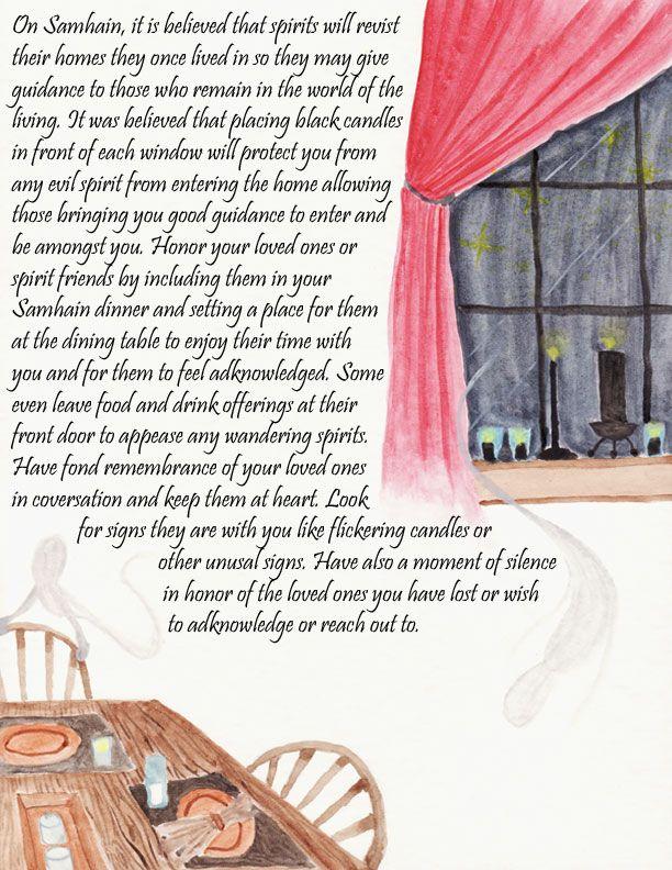 "Samain: ""Samhain - page 3,"" by jezebelwitch, at deviantART."