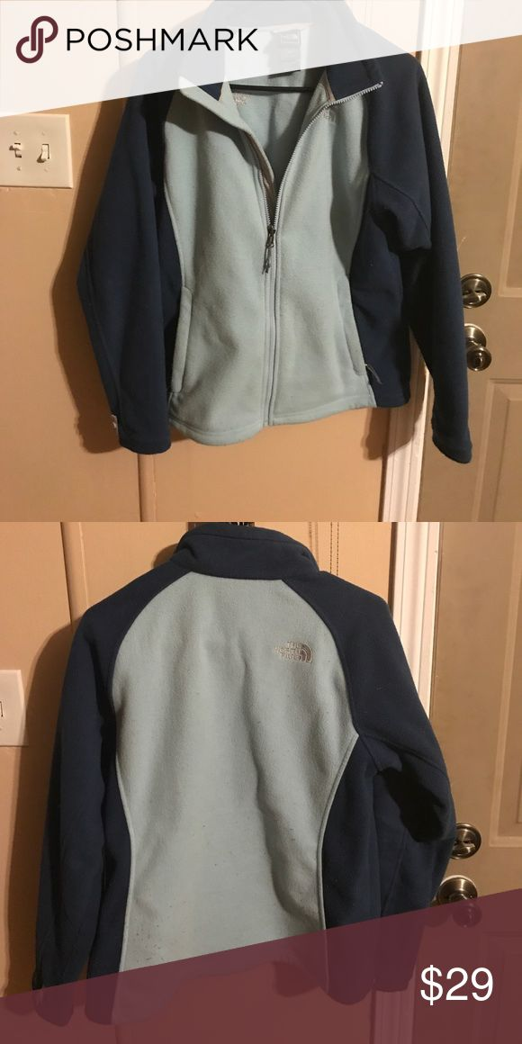 The North Face Women's fleece jacket Medium Women's blue The North Face fleece jacket The North Face Jackets & Coats