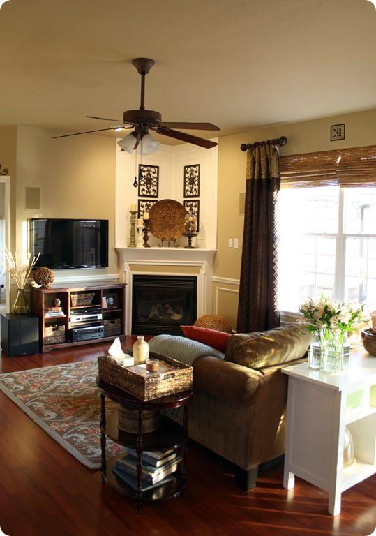 15 best coffee table decor images on pinterest trays for Living room setup ideas