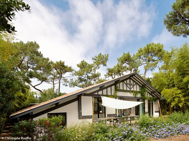 White holiday home in Landes 8