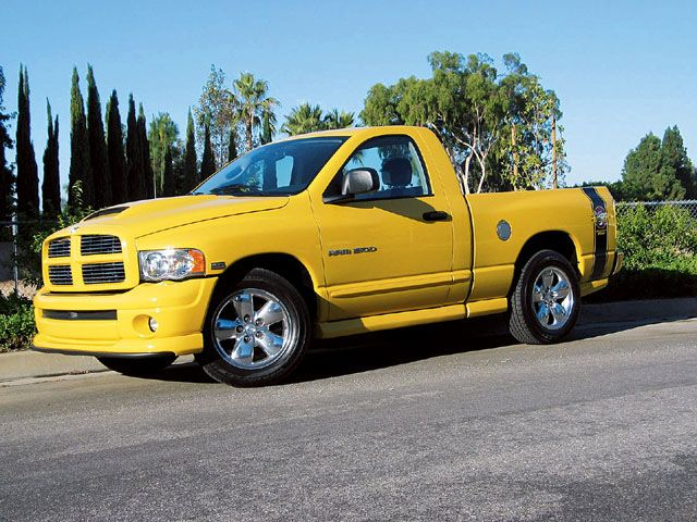 Dodge Ram 1500 Hemi Rumble Bee
