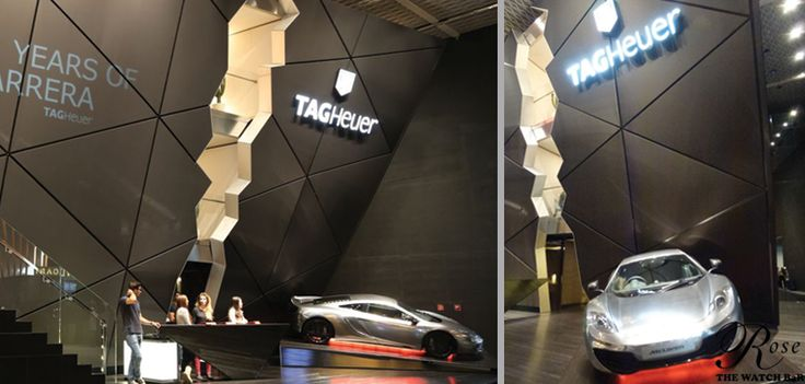 Check out TAG Heuer 's booth at the #Baselworld.  #ClassAct