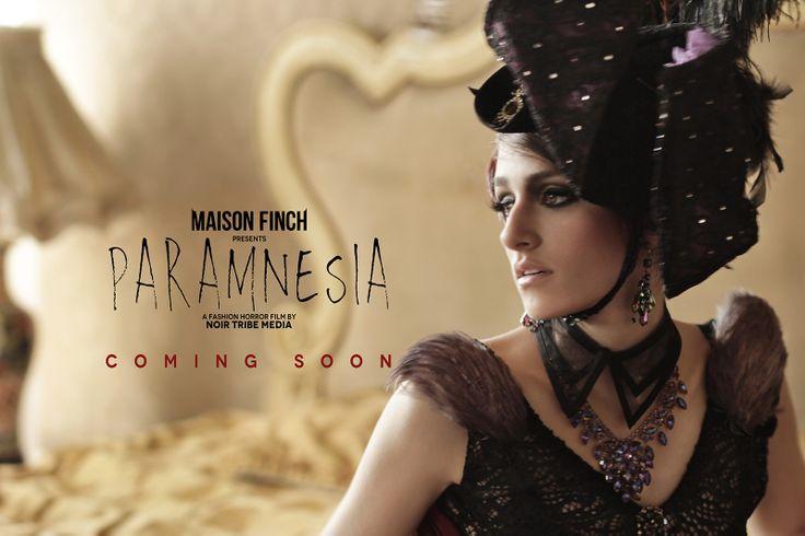 MAISON FINCH / Noir Tribe Media  PH: Ace Amir Model: Sofia Arango  #MaisonFinch #MF #MaisonFinchArchive