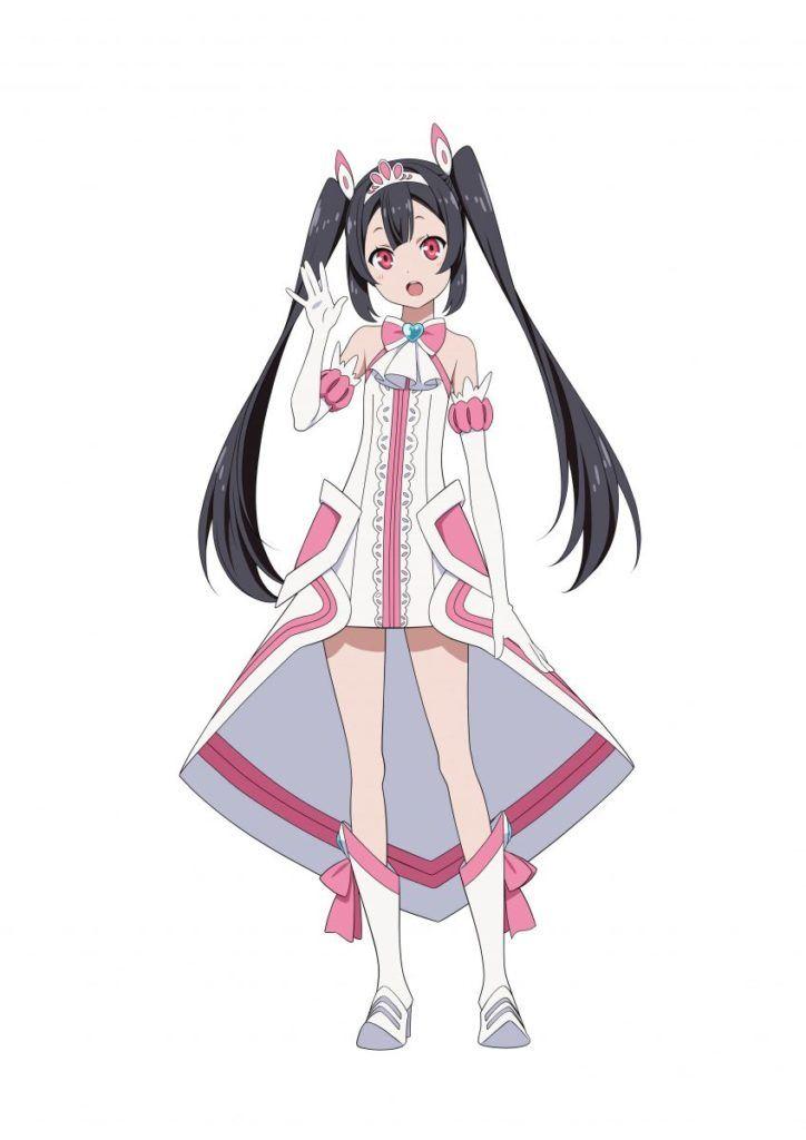 Yuuki Soleil Va Yurimi Hanamori From Anime Egao No Daika The
