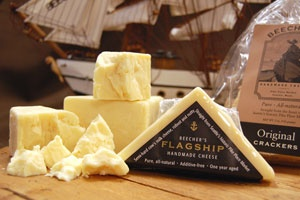 Flagship cheddar from Beechers Handmade #Cheese