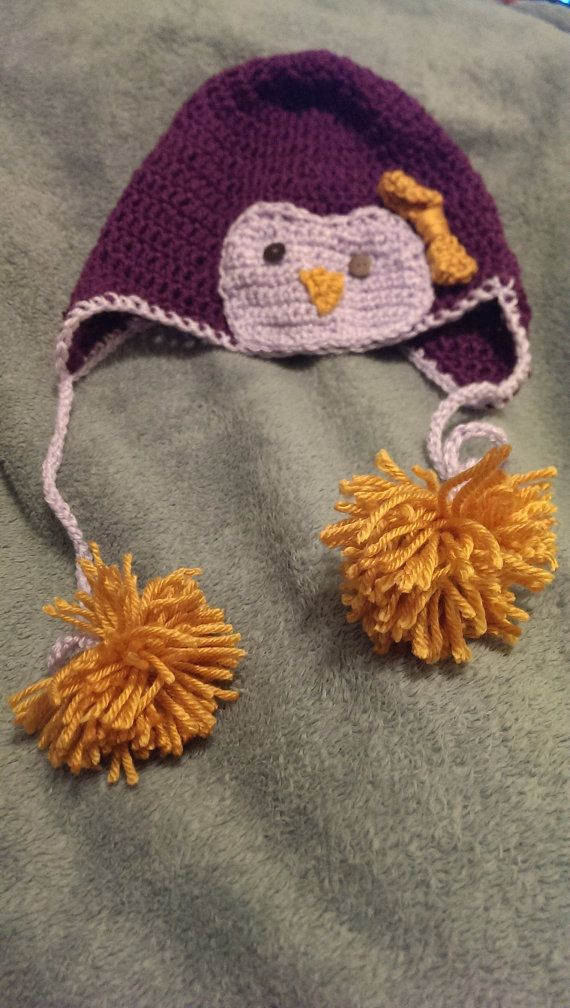 Adult Penguin Hat~*~ originally pinned by https://www.facebook.com/HookedOnEwe