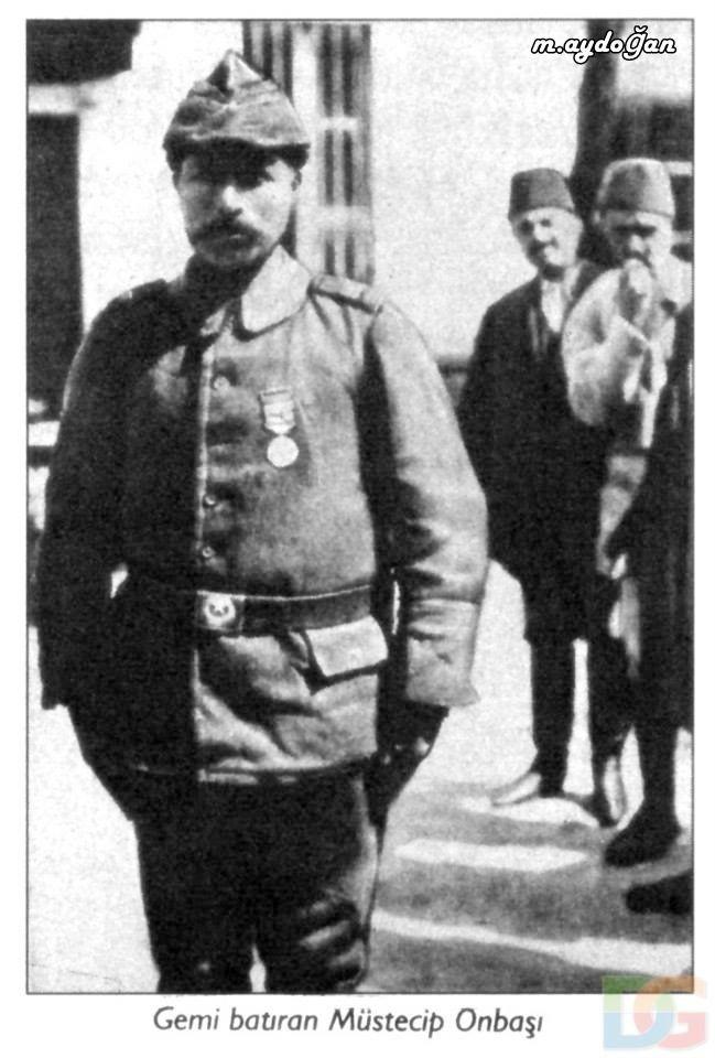 Çanakkale Savaşı'nda deniz topçu eriydi. Bu asker, 30 Ekim 1915 tarihinde akbaş ta nöbeti esnasında Çanakkale Boğazını geçmekte olan ve su üzerinde kulesi görünen Fransız denizaltısı Turquoise'ı 3. top atışında vurdu
