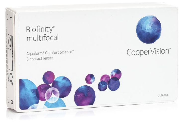 Biofinity Multifocal CooperVision (3 lentile)