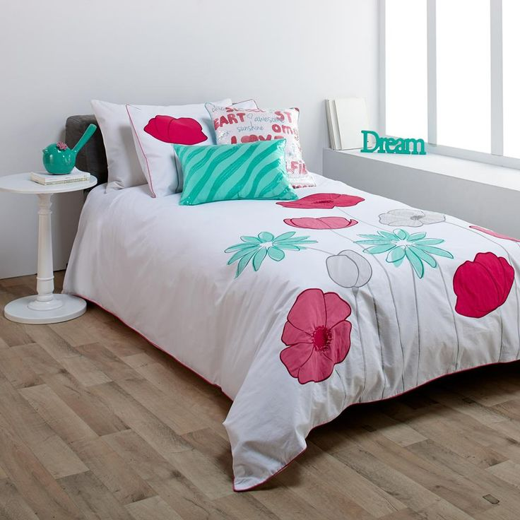 Collection pop flower ensemble de housse de couette for Ensemble housse de couette