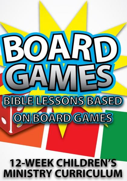 Use fun board games to teach kids lessons from the Bible. Just like there are rules for playing each of these games, God has given us specific rules for how we