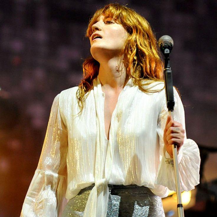 Florence + The Machine at Glastonbury 2015.