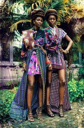 Zion Tribe: Aliane Uwimana Gatabazi and Rachelle Mongita photographed by Maëlle André for MOTEL Magazine DK