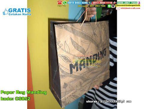 Paper Bag Manding Hub: 0895-2604-5767 (Telp/WA)  #  # # # # # # #souvenir #souvenirPernikahan