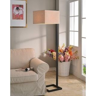 shop for ronson bronze floor lamp get free shipping at your