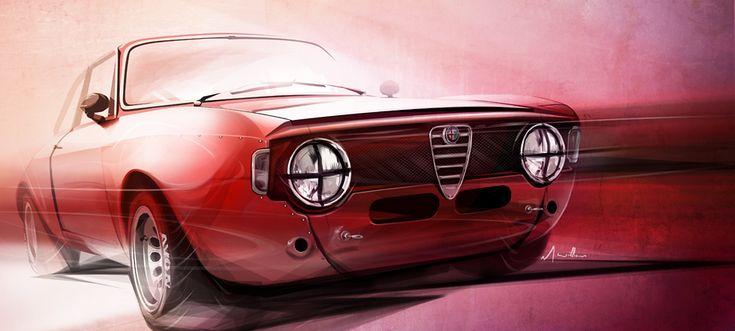 Alfa Romeo Junior GT by ~lockanload on deviantART