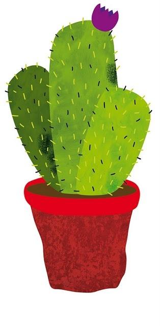 Itziar San Vicente Illustration cactus
