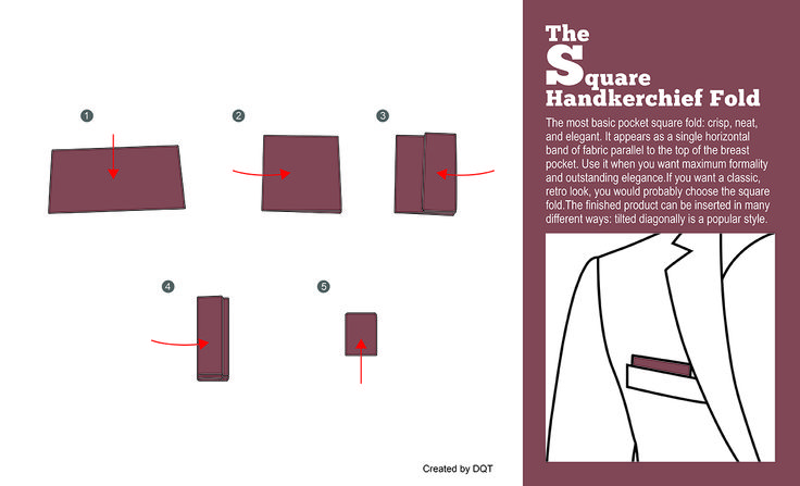 How To Fold a Square Handkerchief (8 of 11) by DQT