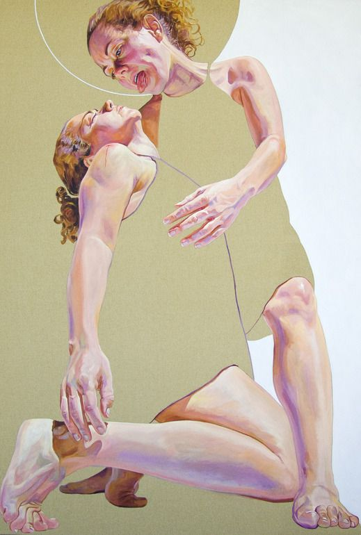 "Saatchi Online Artist: Cristina Troufa; Acrylic, 2011, Painting """"O Eu Superior"" (The Higher Self)"""