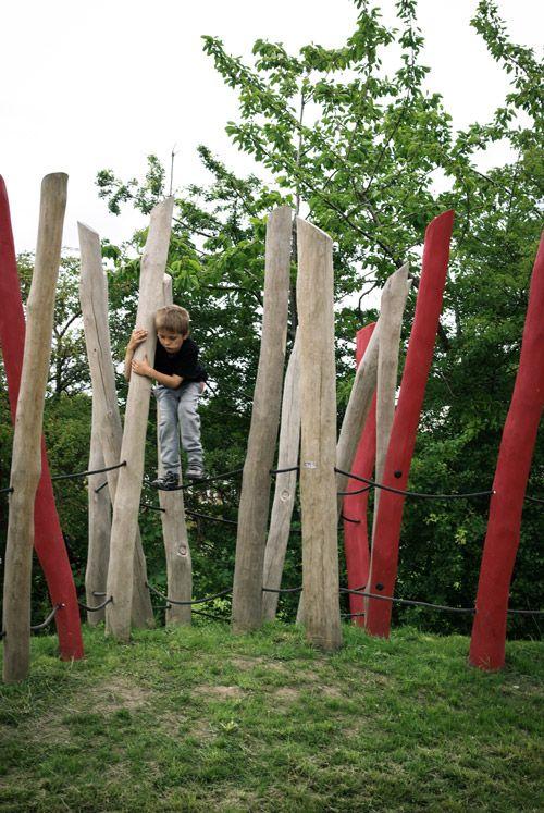 Climbing Stilts look like a challenge.