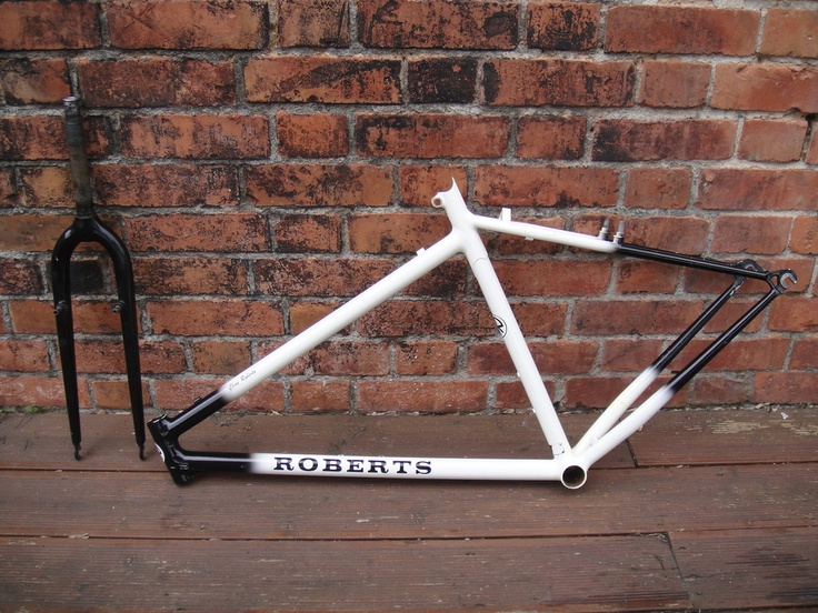 #1989 Chas Roberts frame and forks retro mountain bike Like, Repin, Share, Follow Me! Thanks!